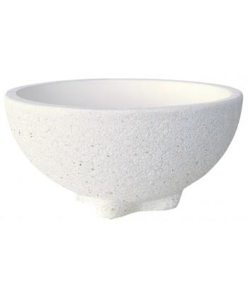 Jardinera granito-Gandía blanco
