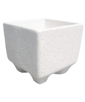 Jardinera granito La manga blanco