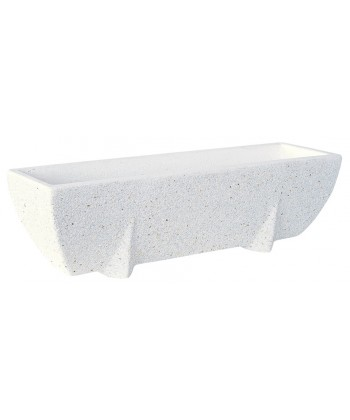 Jardinera granito Marlyn blanco