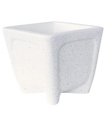 Jardinera granito-Ibiza blanco